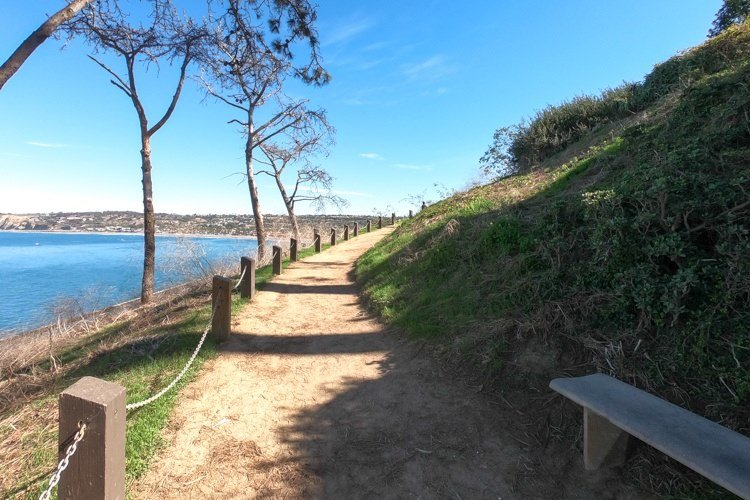 San Diego coastal overlook.